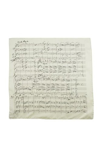 Music Pocket Handkerchief