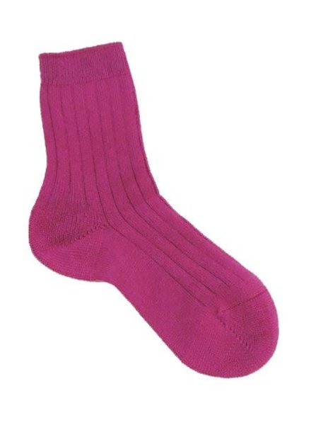Pantherella Tabitha Cashmere Socks Damson