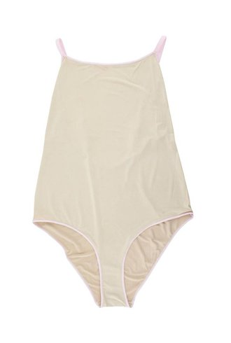 Xirena Bridget Bardot Bodysuit Parchment