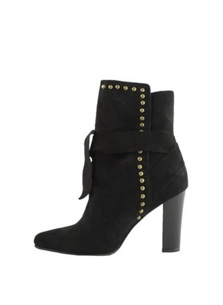 Ulla Johnson Aggie Suede Boot Black