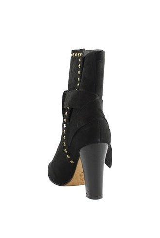 Ulla Johnson Aggie Suede Boot Black