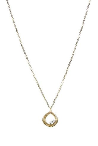 Dana Kellin Fine 14k Grey Diamond Necklace
