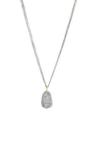 Dana Kellin Fine 14k Pave Diamond Pendant Necklace