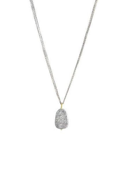 Dana Kellin Fine 14k Pave Diamond Pendant Necklace