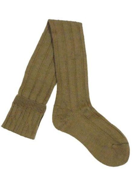Pantherella Knee High Wool Socks Camel