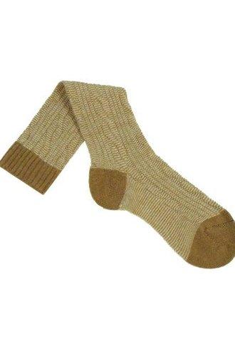 Pantherella Camel Cable Knit Socks