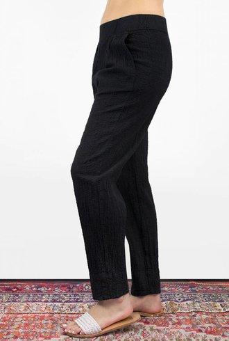 Raquel Allegra Easy Pant Black