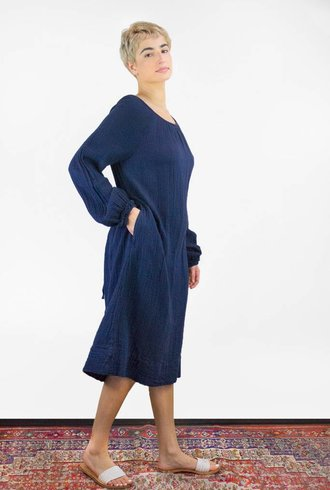 Raquel Allegra Dress Marine