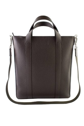 Orciani Soft Leather Bag T. Moro