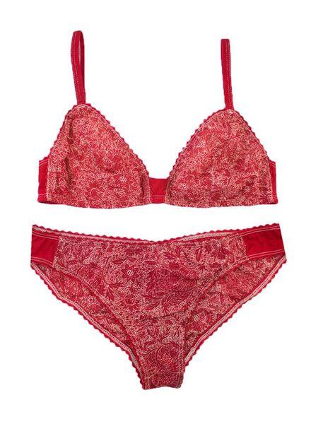 Xirena Ines Set Red Bandana