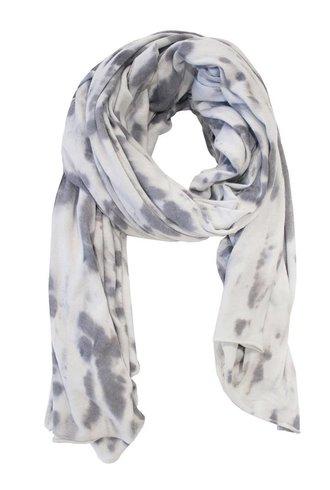 Raquel Allegra Convertible Scarf Grey Crystal Tie Dye