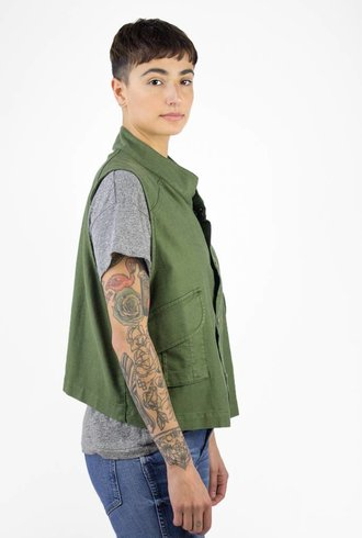 The Great The Army Vest Troopgreen