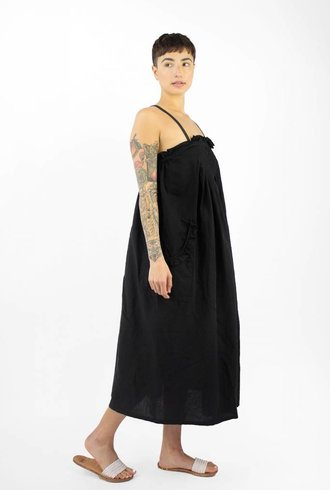 The Great The Tulip Dress Black