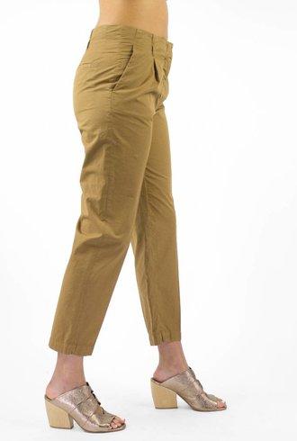 Pomandere Pleat Front Pant Khaki