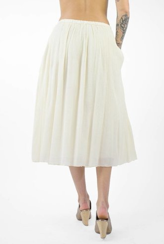 Pomandere Flowy Skirt Cream