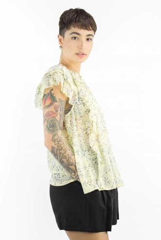 Ulla Johnson Rooney Blouse Acacia