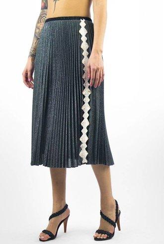 Loyd/Ford Lurex Skirt Silver