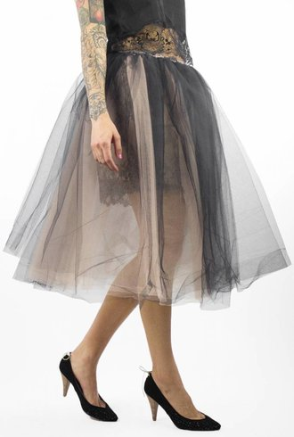 Loyd/Ford Tulle Skirt Black