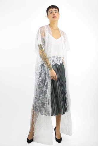Loyd/Ford Lace Coat White