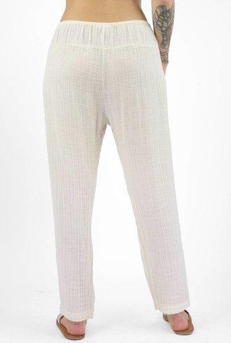 Xirena Presley Double Gauze Pant Pebble