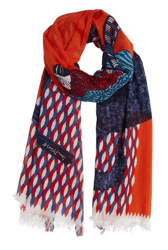 Inouitoosh Coco & Cachou Scarf Orange