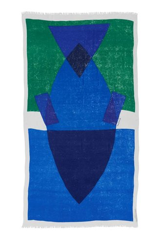 Inouitoosh Izzy Scarf Blue Emerald