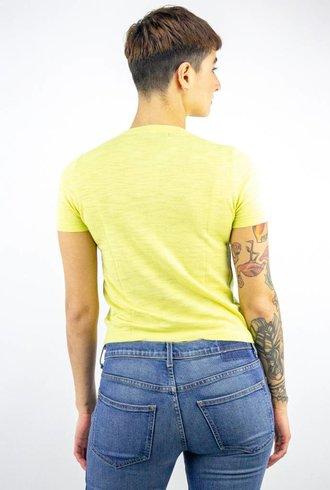 360 Sweater Caitlin Cotton Tee Banana