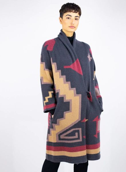 360 Sweater Tatum Coat Arrowhead Multi