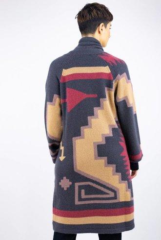 360 Sweater Tatum Sweater Coat Arrowhead Multi