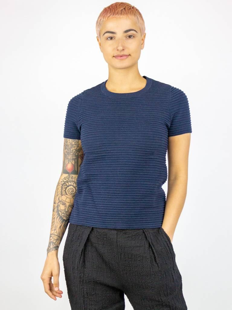 34427fff8ec Kokun - Bamboo Cashmere Ridged Tee - Women s Clothing Boutique