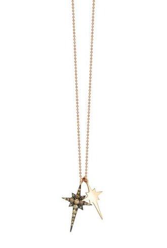 KISMET by Milka Kismet Star Double Necklace Gold