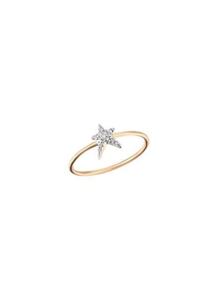 KISMET Struck Small Ring Rose Gold