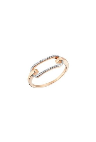 KISMET Equality Bar Ring Rose Gold