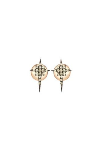 KISMET by Milka Kismet Star Earrings Gold