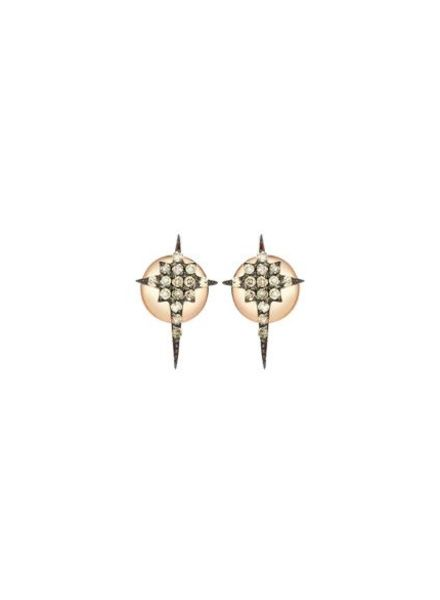 KISMET by Milka Kismet Star Earrings Gold