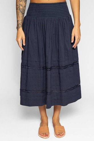 The Great The Frill Skirt Navy