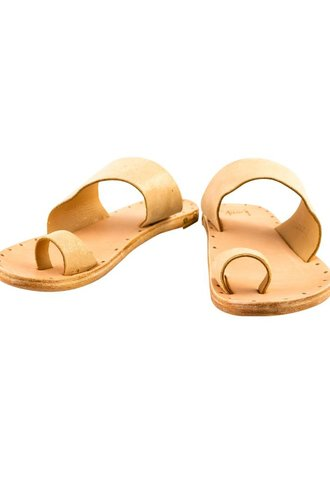 Beek Finch Sandal Apricot Natural