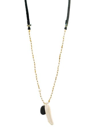 Renee Garvey Fossil Mammoth Necklace