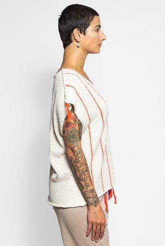Raquel Allegra V-neck Popover Off White