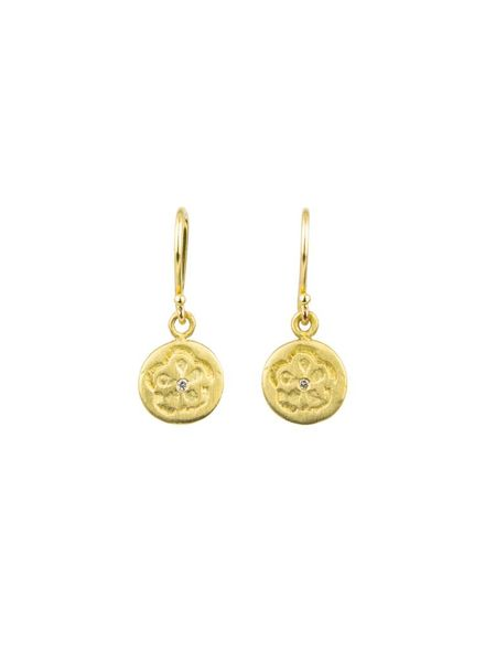 Page Sargisson Nora Blossom Earrings Gold