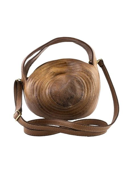 Majo Small Circle Bag Honey