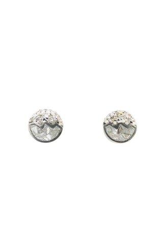 Shana Gulati Raina Studs Small Silver