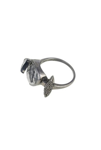Shana Gulati Benna Ring Black