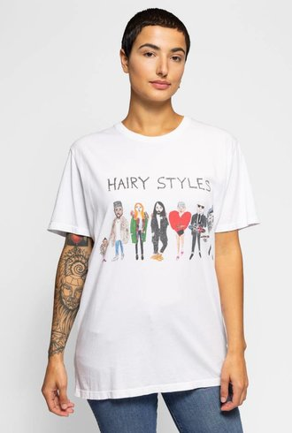 Unfortunate Portrait Hairystyles Short Sleeve Tee