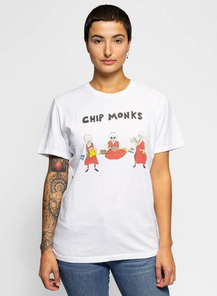 Unfortunate Portrait Chip Monks Short Sleeve Tee