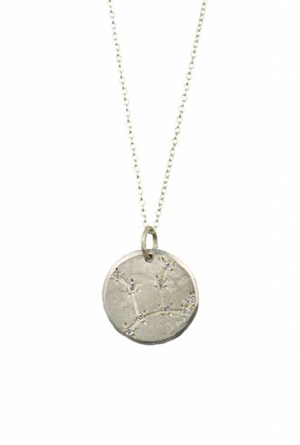 Page Sargisson Virgo Constellation Necklace Sterling Silver