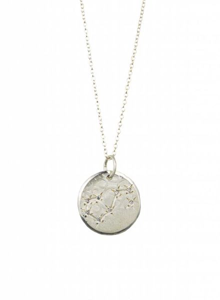 Page Sargisson Scorpio Constellation Necklace Sterling Silver