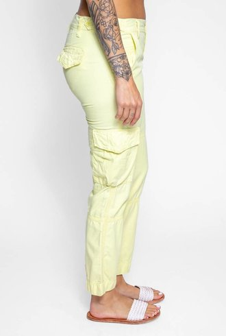 NSF Basquiat Cargo Pants Limon