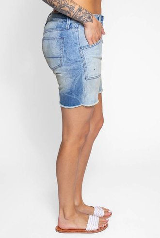 NSF Chrissy Shorts Flora Fade