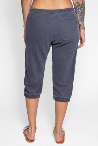 NSF Teddy Pigment Sweatpants Black